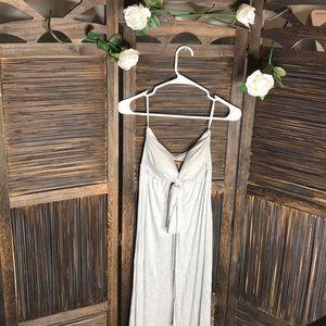 Gray maxi dress by Hive & Honey